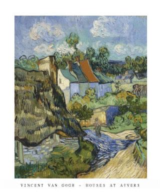 Van Gogh House at Auvers Print Click Add to Cart to Order