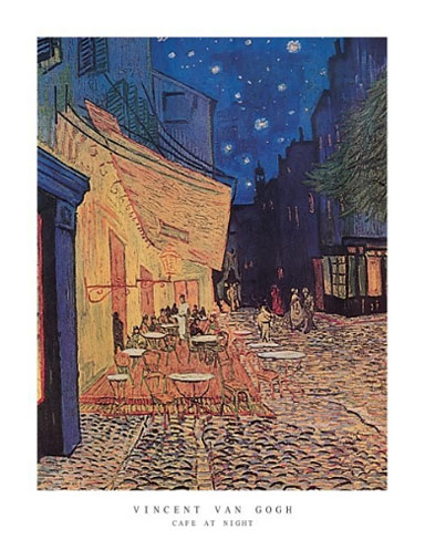 Van Gogh Cafe at Night Art Print Click Add to Cart to Order
