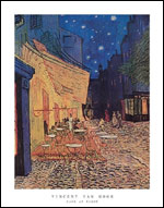 Van Gogh Cafe at Night Art Print Click here to zoom in