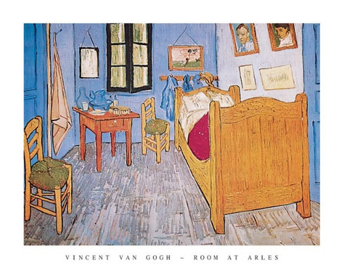 Van Gogh Room at Arles Art Print Click Add to Cart to Order