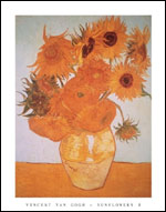 Van Gogh Sunflowers Art Print Click here to zoom in