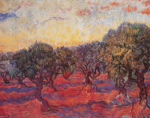 Van Gogh Olive Grove Art Print Click Add to Cart to Order