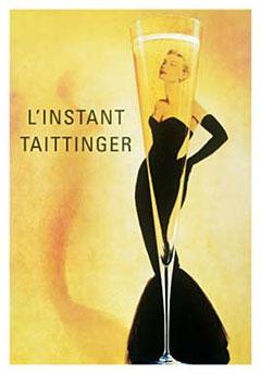 L-Instant-Taittinger-Champagne-Poster