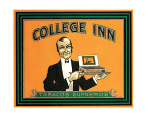 College-Inn-Vintage-Cigar-Box-Label-Poster