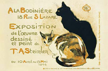Exposition-Steinlen-Poster