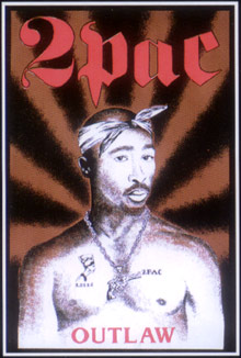 2Pac-Outlaw-Blacklight-Poster