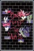 Pink Floyd The Wall Blacklight Poster