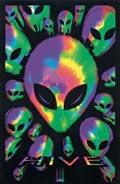 blacklight blacklite posters alien alian hive