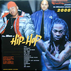 Men of Hip Hop 2000 Calendar