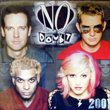 Official No Doubt 2001 Calendar