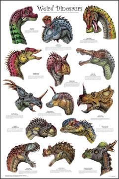 Weird-Dinosaurs-Poster