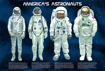 Americas-Astronauts-Poster