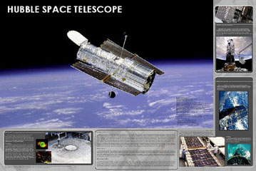 Hubble-Space-Telescope-Poster