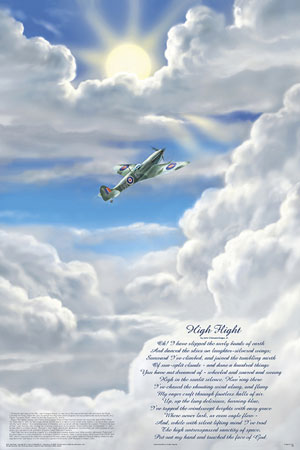High Flight Poster