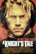 Heath Ledger A Knight's Tale Poster