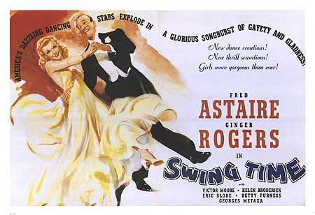 Fred Astaire and Ginger Rogers Swing Time Poster