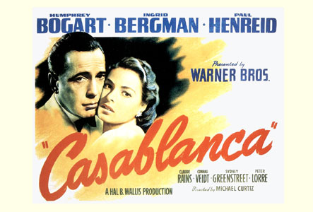 Casablanca-French-Version-Poster