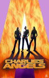 Charlies Angels Framed Poster