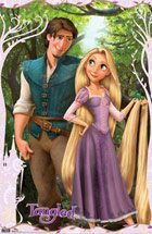 Tangled - Rapunzel and Flynn Poster