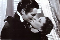 Gone With the Wind Clark Gable and Vivien Leigh Poster