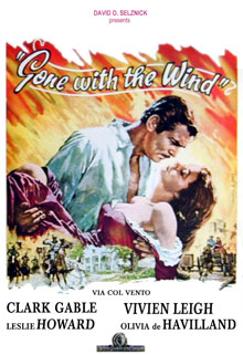 Gone-With-the-Wind-Italian-Poster