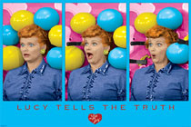 Lucy Tells the Truth I Love Lucy Poster
