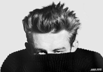 James Dean Sweater Poster