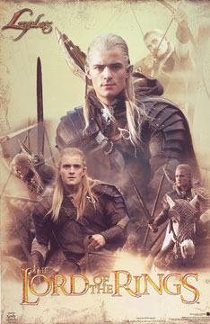 Legolas-Collage-Poster