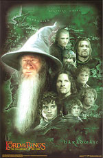 Gandalf's Friends Poster