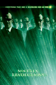 The Matrix Agent Smith Poster