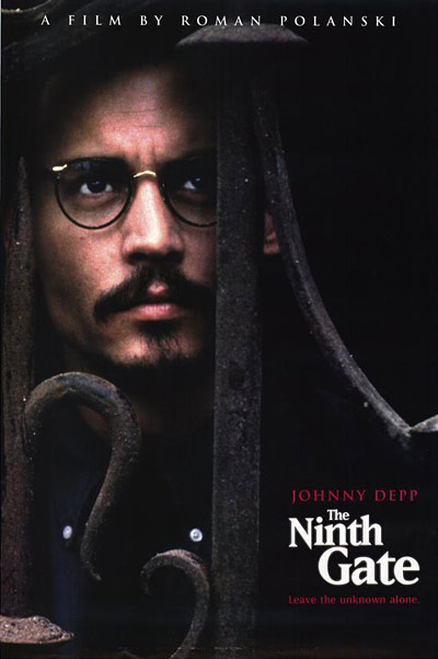 Johnny Depp Ninth Gate Poster