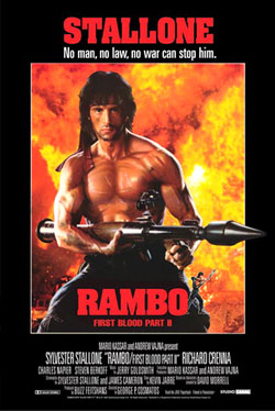 Rambo First Blood Poster