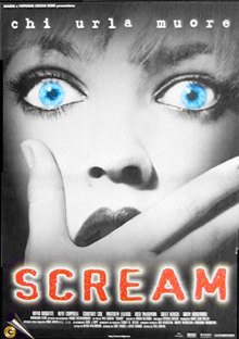 Scream Horror Movie Poster
