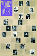 Women Who Dared Poster