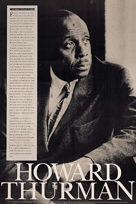 Howard Thurman Poster