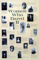 Women Who Dared II Poster
