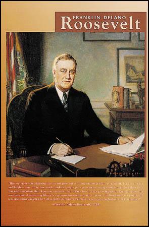 Franklin-D-Roosevelt-Poster