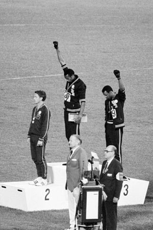 1968 Olympics Black Power Salute Poster