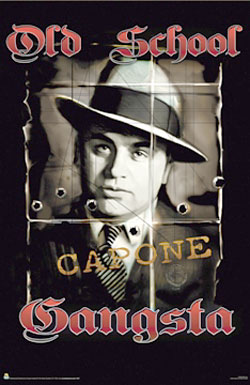 Al Capone Old School Gangster Poster