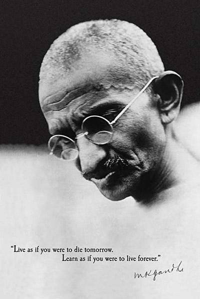 Gandhi-Live-Forever-Poster