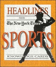 New York Times Sports Knowledge Cards Click Add to Cart to Order