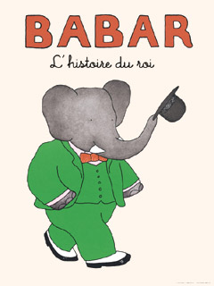 Babar the Elephant Poster