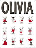 Olivia-the-Pig-Framed-Print
