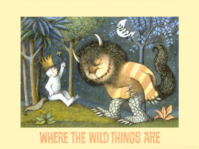 Where the Wild Things Are Poster Maurice Sendak Click Add to Cart to Order