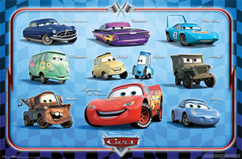 Cars Group Poster
