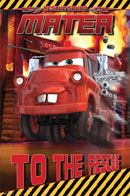 Cars Mater to the Rescue Poster