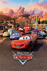 Disney Cars Radiator Springs Poster
