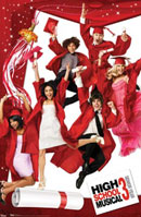 High School Musical Poster HSM 3 Graduation Poster Click Add to Cart to zoom in