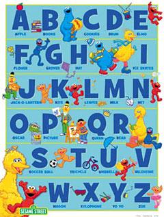 Sesame-Street-ABCs-Quality-Poster