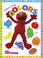 Elmo Loves Colors Poster